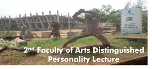 2nd Faculty of Arts Distinguished Personality Lecture